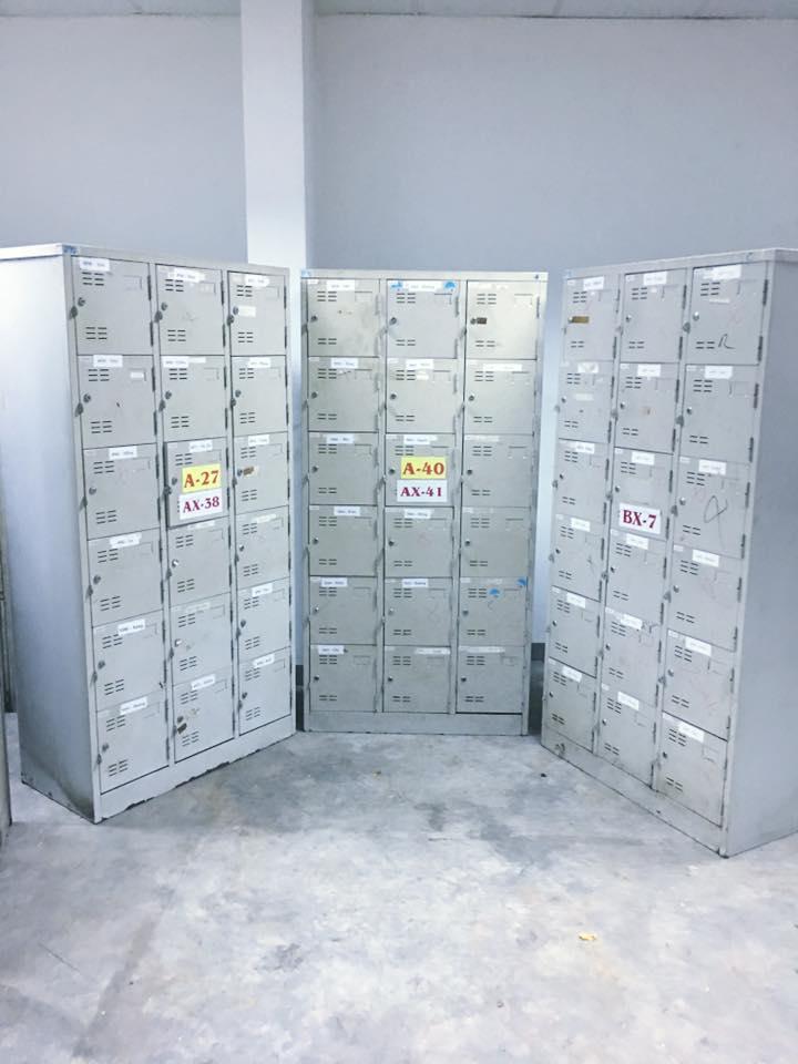 Tủ locker 18 hộc thanh lý