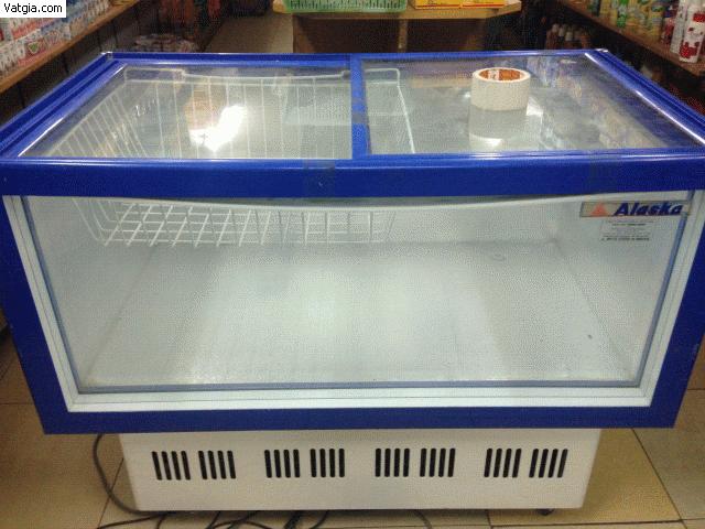 Mua bán tủ mát cũ Alaska nằm 012