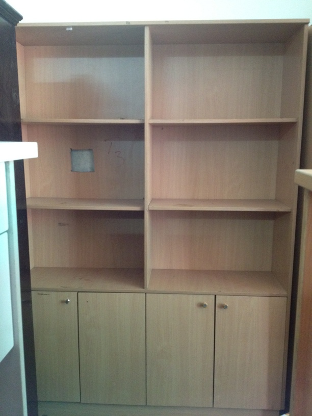 Mua bán tủ hồ sơ gỗ đứng cũ 005