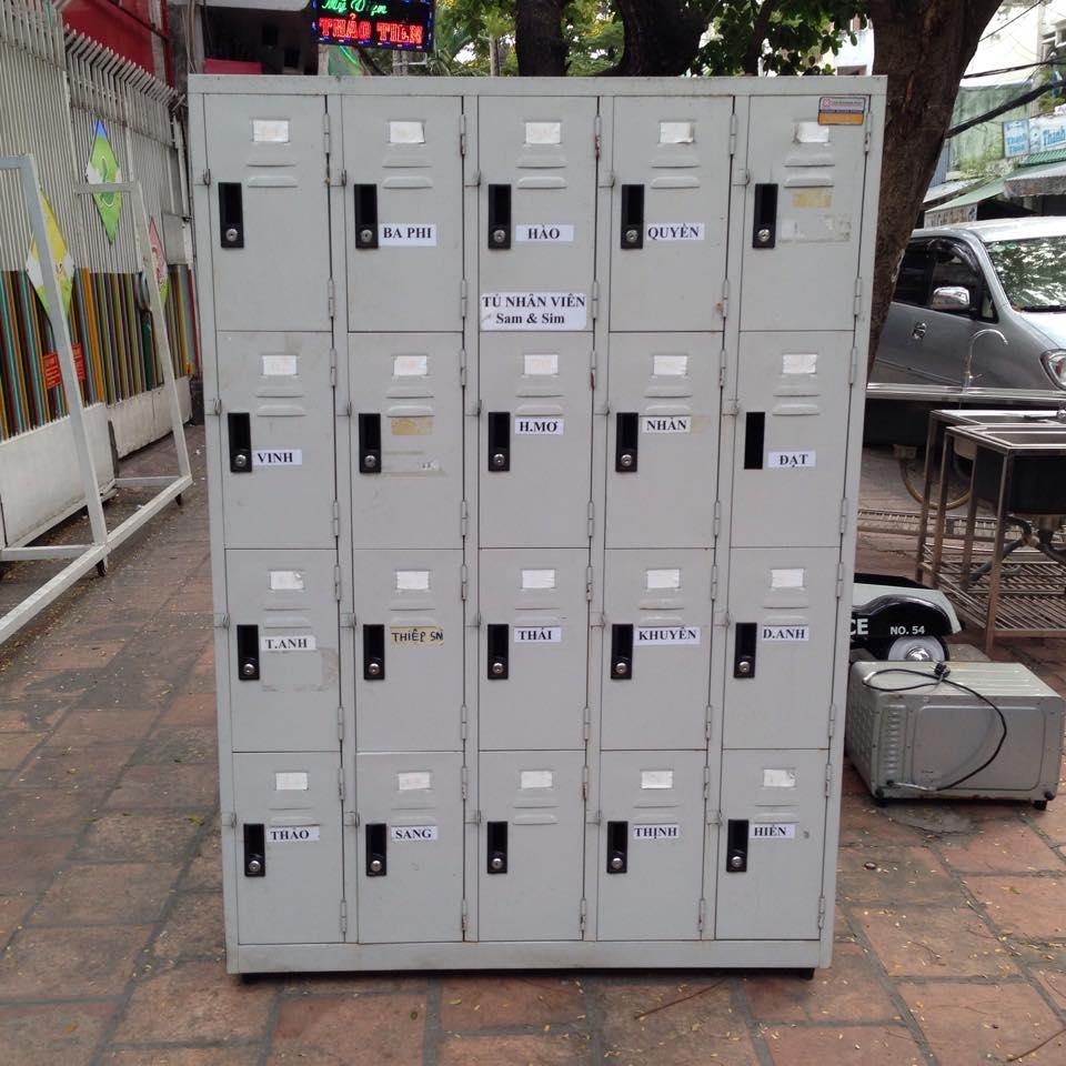 Thanh lý tủ locker 20 hộc 0359