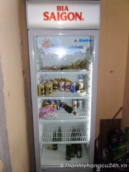 Thanh lý tủ mát Alsaka Bia Sài Gòn