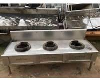 Thanh lý bếp nhà hàng 3 họng 0620